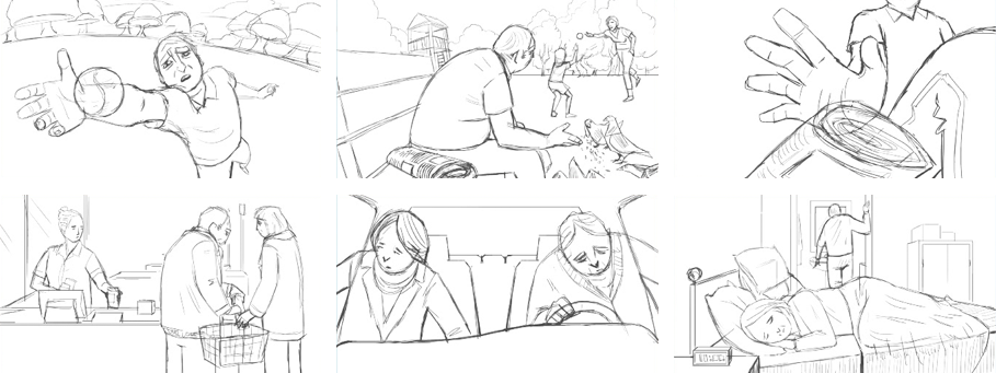 Burden Storyboard